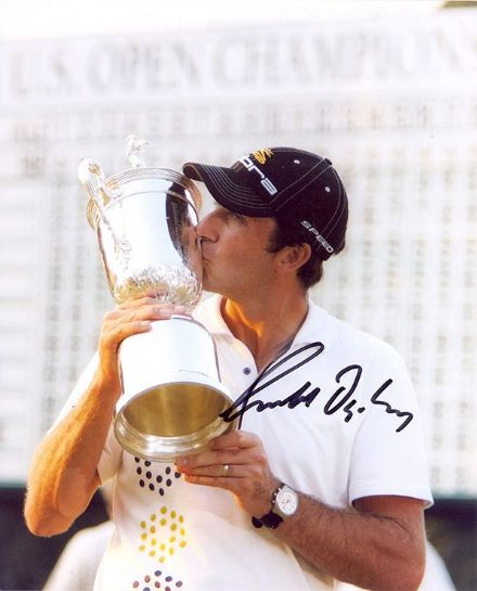 Geoff Ogilvy, US Open 2006, signed 10x8 inch photo.